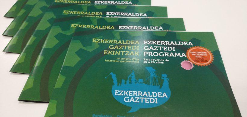 AGENDA DE ACTIVIDADES EZKERRALDEA GAZTEDI