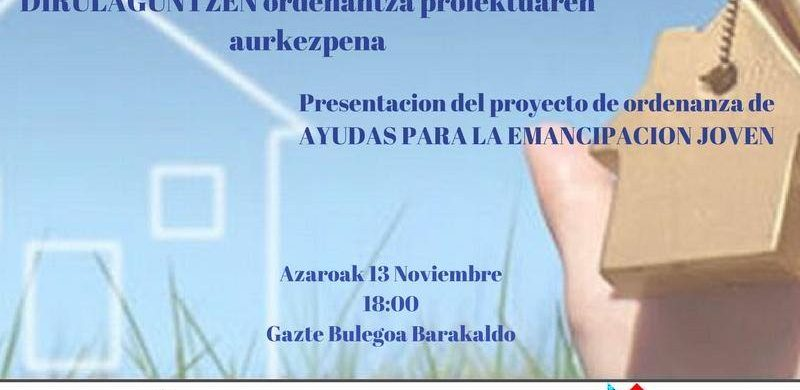 Presentación proyecto de Ordenanza Emancipación