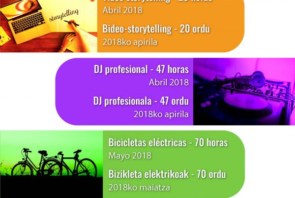 Cursos gratuitos de DJ Profesional y Vídeo Storytelling
