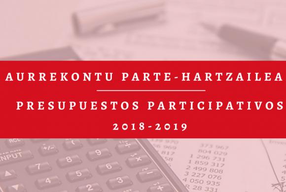 Presupuestos Participativos 2018-2019