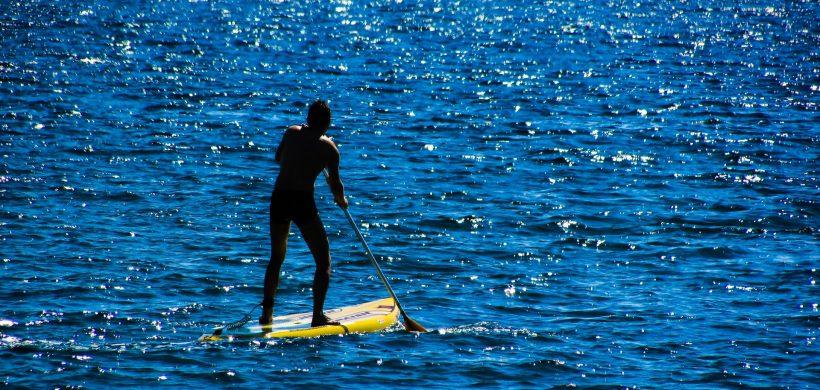 Paddle Surf por la Ría de Plentzia
