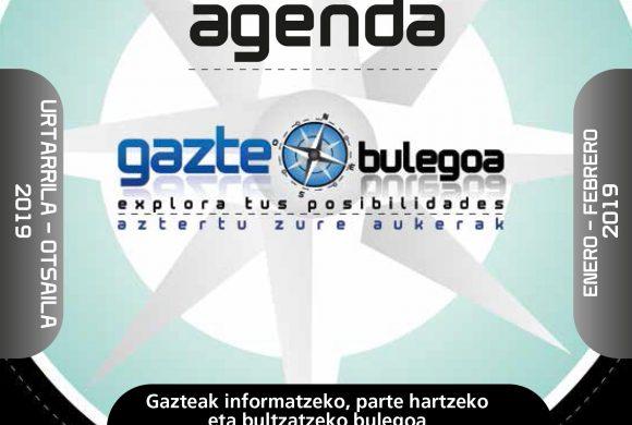 Agenda Gaztea Enero-Febrero 2019