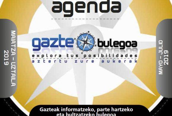 Gazte Agenda Mayo – Julio 2019