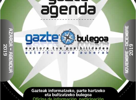 GAZTE AGENDA NOVIEMBRE-DICIEMBRE 2019
