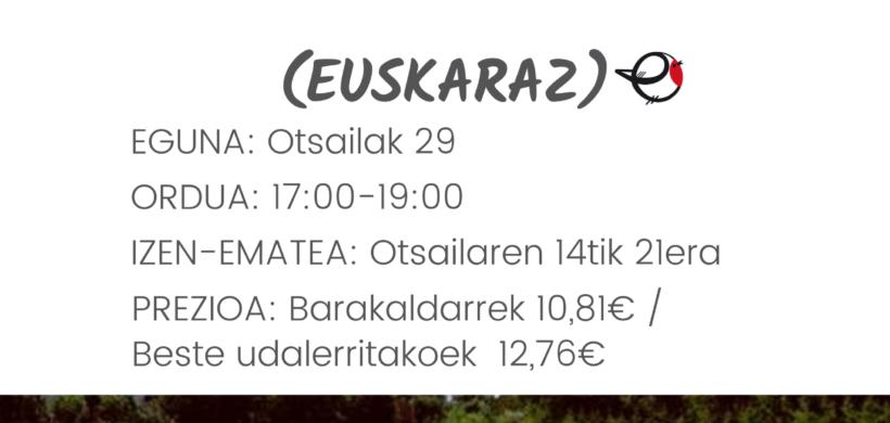 BUBBLES PUZGARRIAK BARAKALDON (EUSKARAZ)