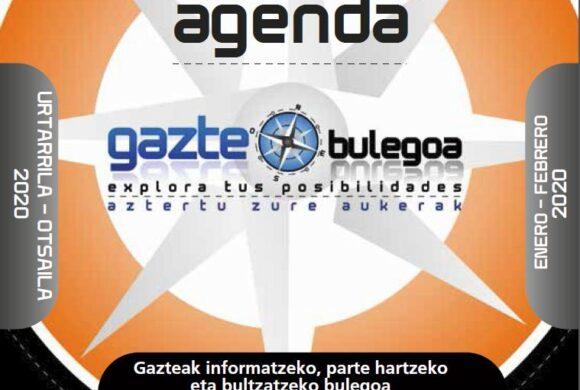 GAZTE AGENDA URTARRILA – OTSAILA 2020