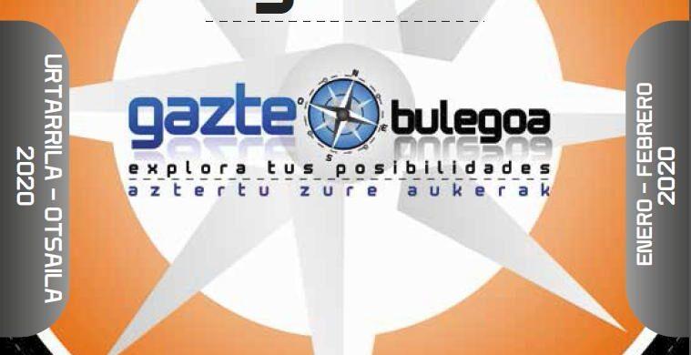 GAZTE AGENDA ENERO – FEBRERO 2020