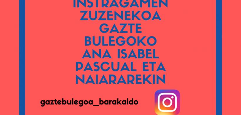 DIRECTOS DE GAZTE BULEGOA. HOY CON ANA ISABEL PASCUAL