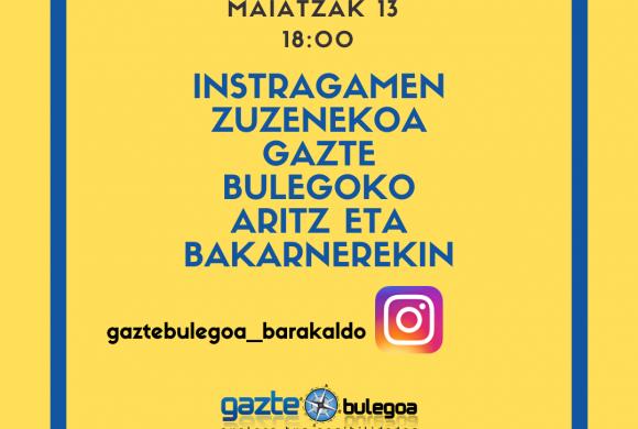 DIRECTOS DE GAZTE BULEGOA: ENTREVISTA A ARITZ GARCÍA