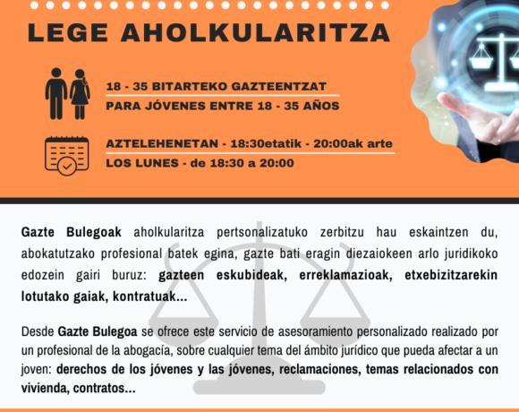 Kartela: Lege aholkularitza