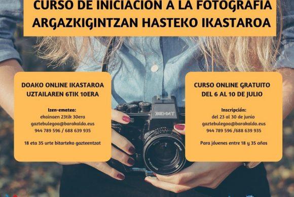INSCRIPCIONES ABIERTAS CURSO FOTOGRAFÍA ONLINE