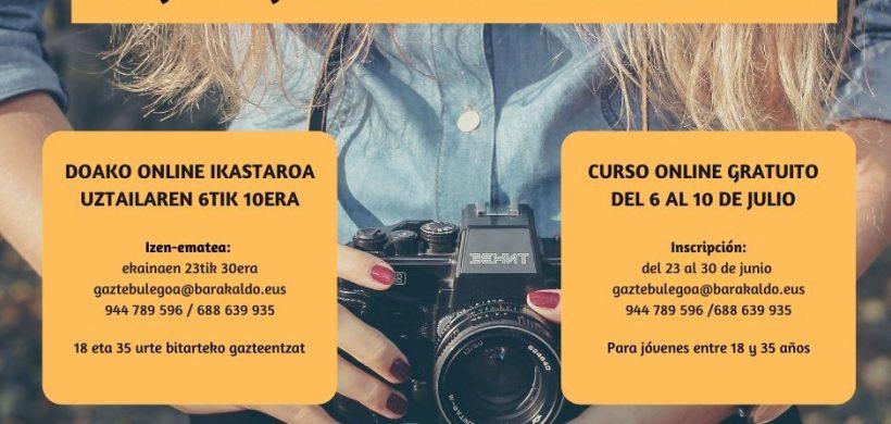 INSCRIPCIONES CURSO FOTOGRAFÍA