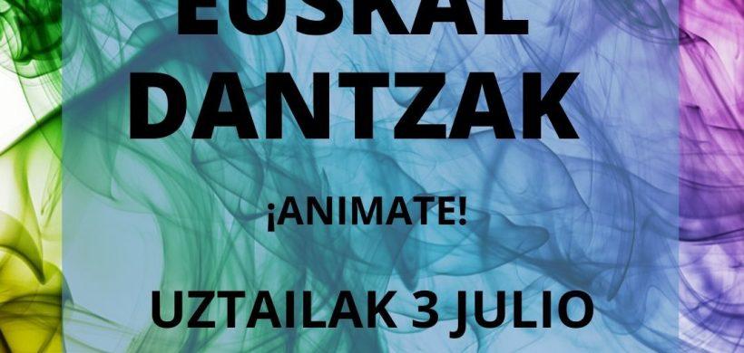 CLASE DE EUSKAL DANTZAK