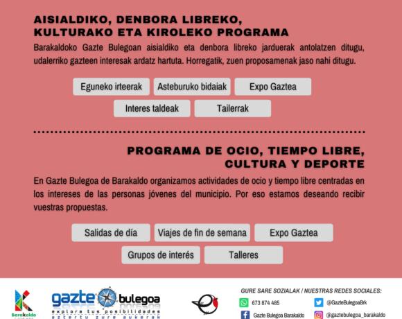 Servicios Gazte Bulegoa