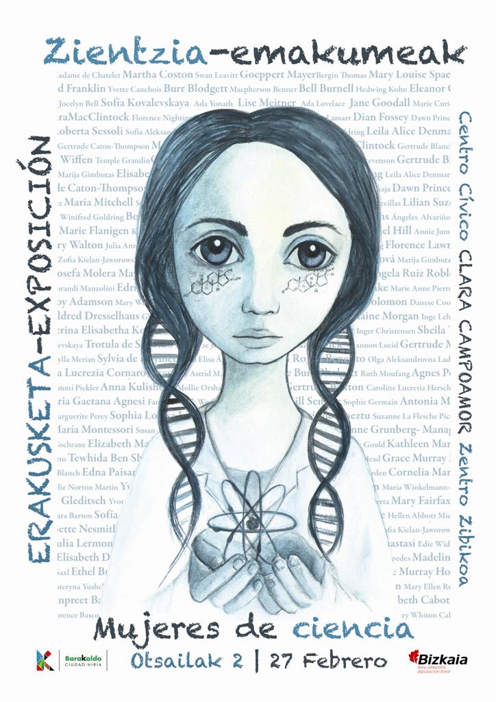 Cartel Mujeres y Ciencia