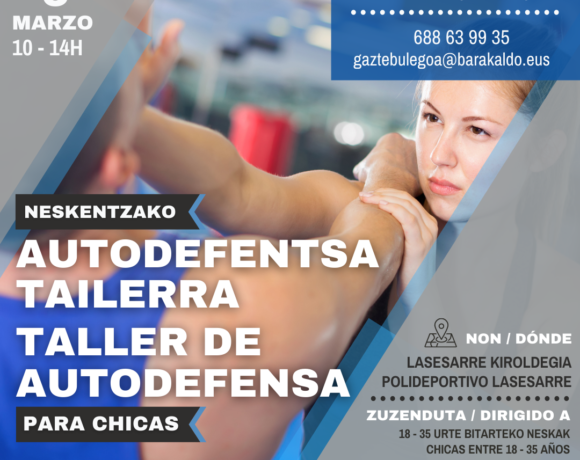 Cartel Autodefensa para chicas