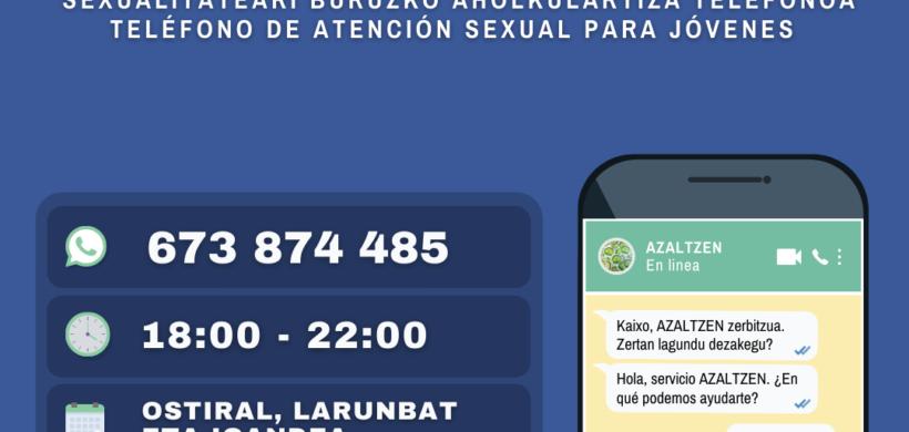 SERVICIO ONLINE SOBRE SEXUALIDAD AZALTZEN