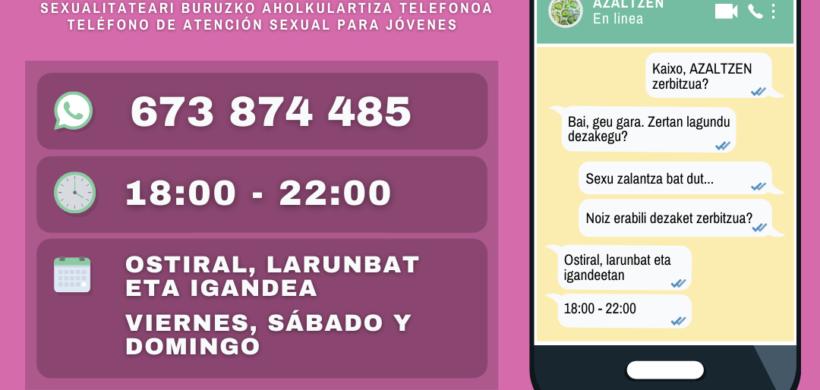 AZALTZEN: SERVICIO ONLINE SOBRE SEXUALIDAD