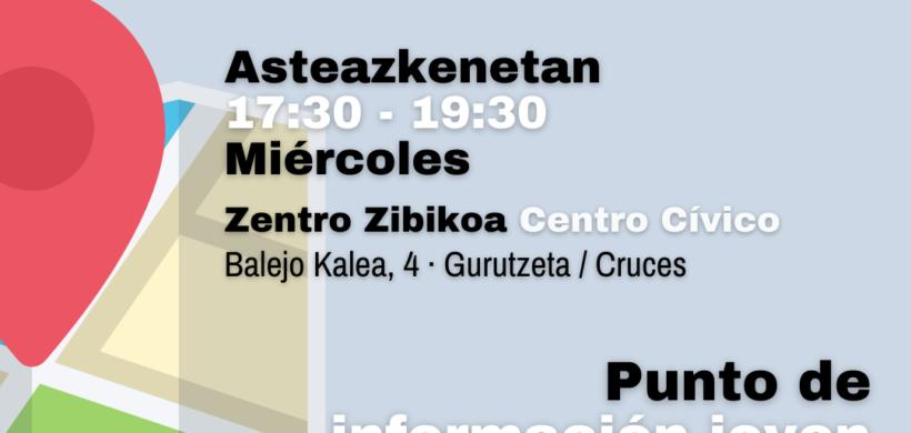 PUNTO DE INFORMACIÓN JOVEN DE CRUCES