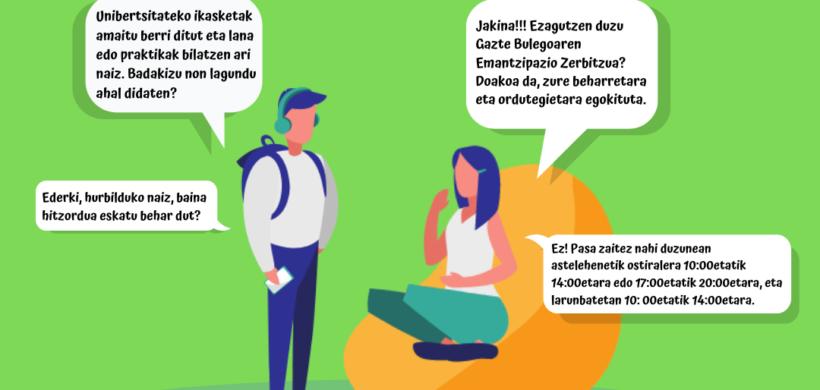 GAZTEBULEGO ZERBITZUAK