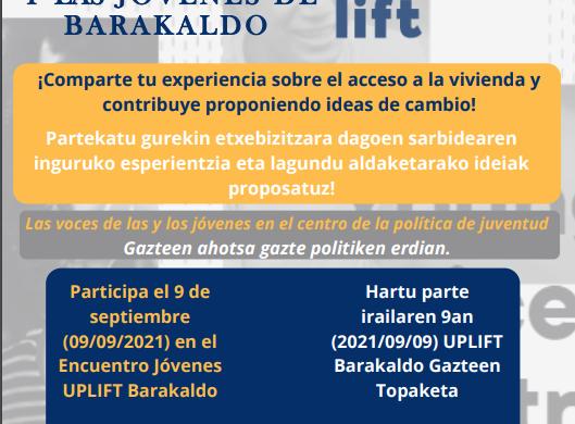 Europako UPLIFT proiektuan parte hartu!